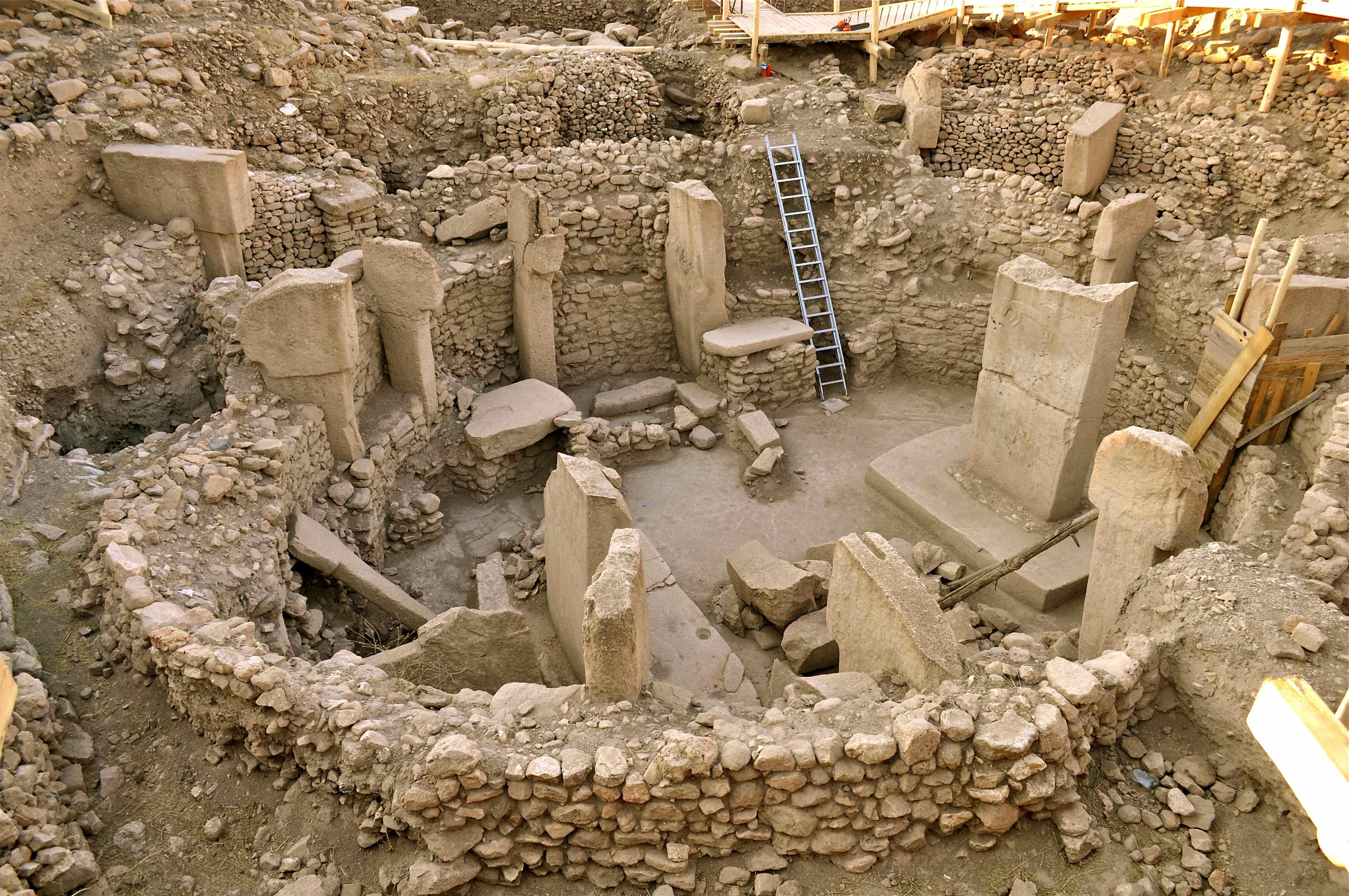 Göbekli Tepe'de Çatı Koruması Projesi Sürüyor