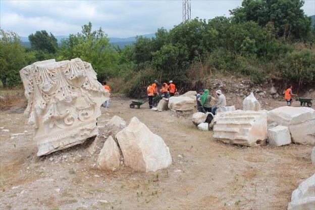 Balıkesir'de Kyzikos Antik Kenti Kazı Çalışmaları Başladı
