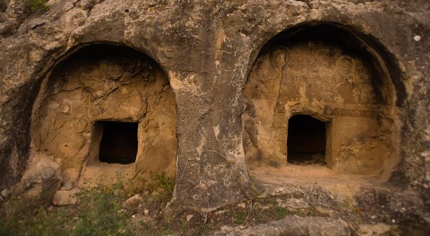 Safranbolu'da Tarihi Kaya Mezarları Turizme Açılacak
