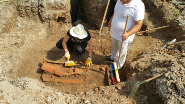 sakarya'da geç roma dönemi mezarları