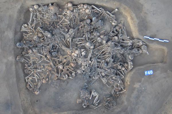 çin neolitik toplu mezar