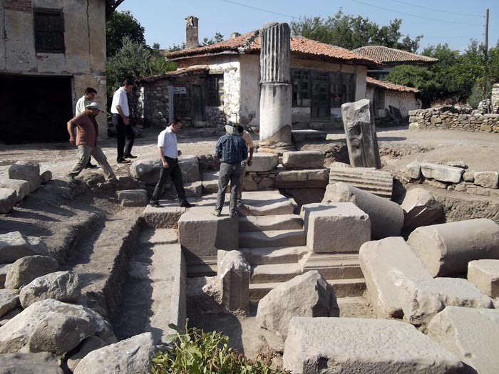 Gladyatörler Şehri Stratonikeia Antik Kenti 2015 yılı