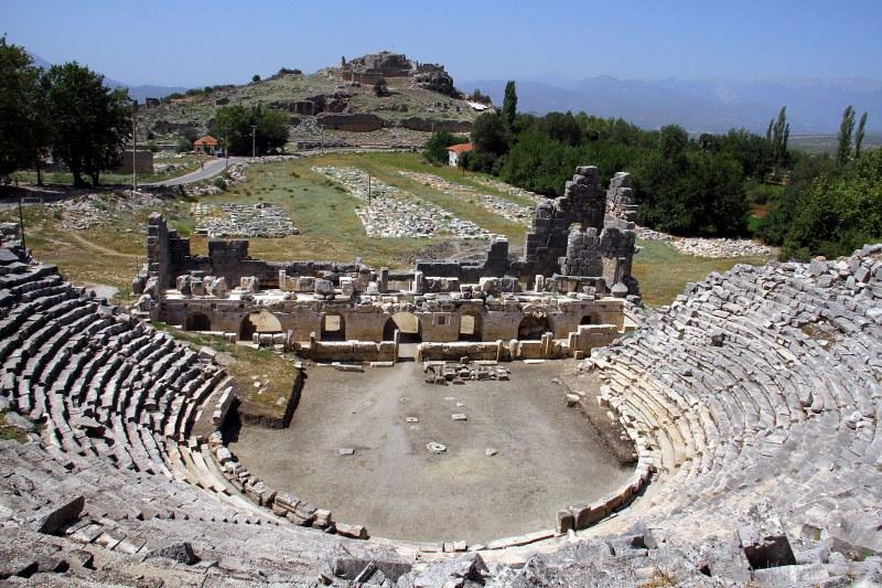 tlos antik kenti'nde 2015 yılı kazılar başlıyor