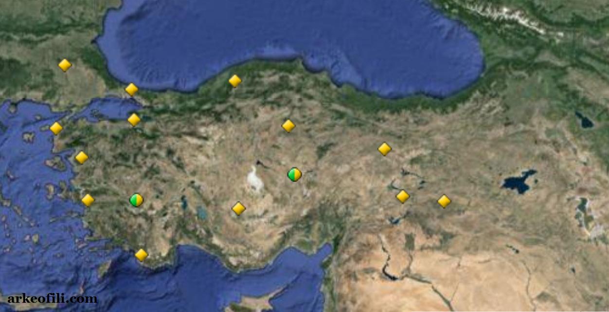 türkiye unesco haritası