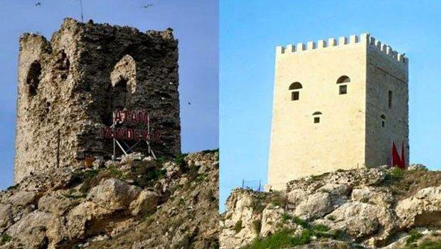 Tarihi Şile Kalesi'nin Restorasyonuna Tepkiler Büyüyor