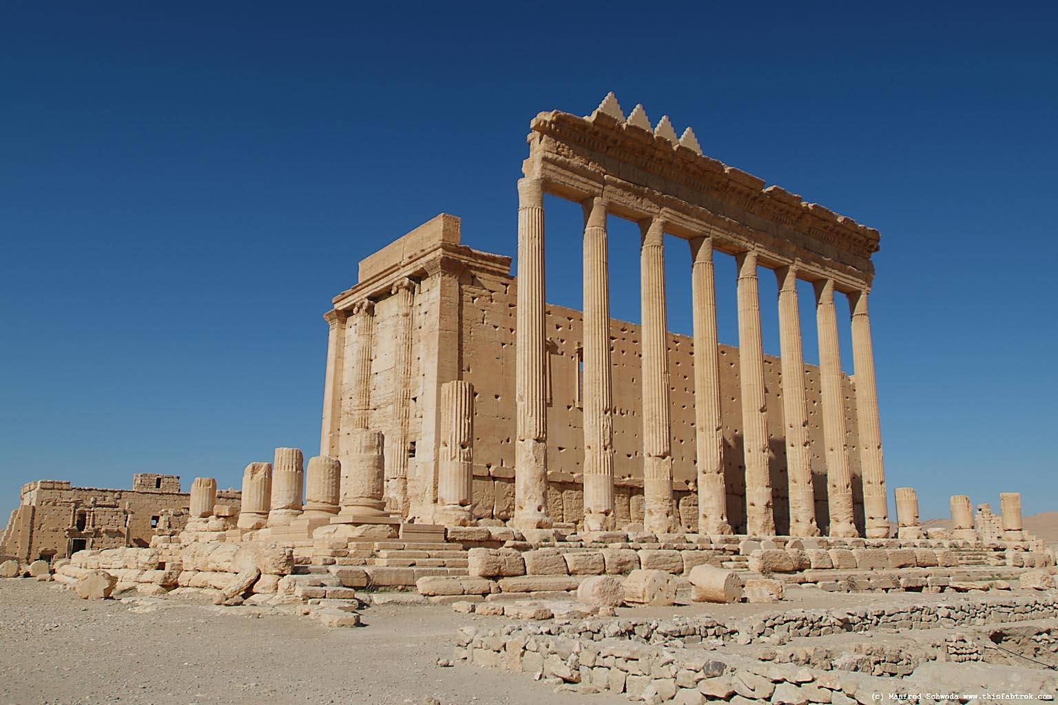 IŞİD militanları Palmira'da ikinci bir tapınak daha yok etti