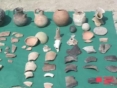 Berde Şortepe'de arkeolojik kazılar tarihi aydınlatıyor.