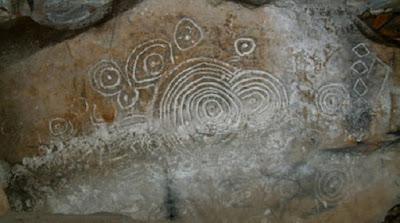 irlanda'daki cairn l'de tutulma betimleri