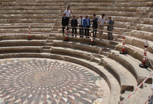 Kibyra Antik Kenti'nde Roma Hamamı Bulundu