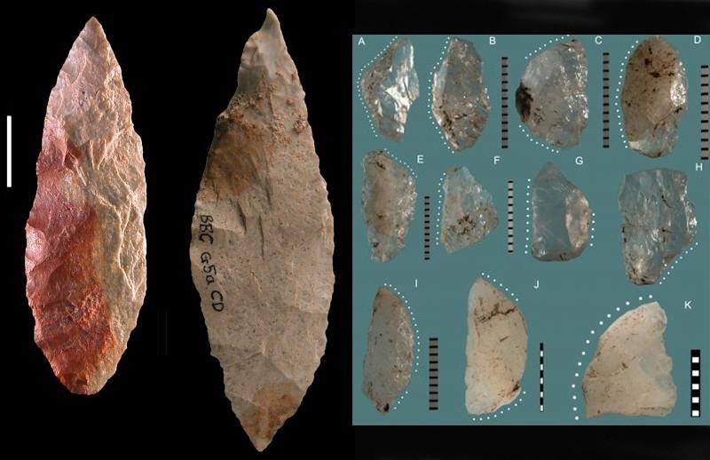 Güney Afika'daki farklı taş alet kültürleri