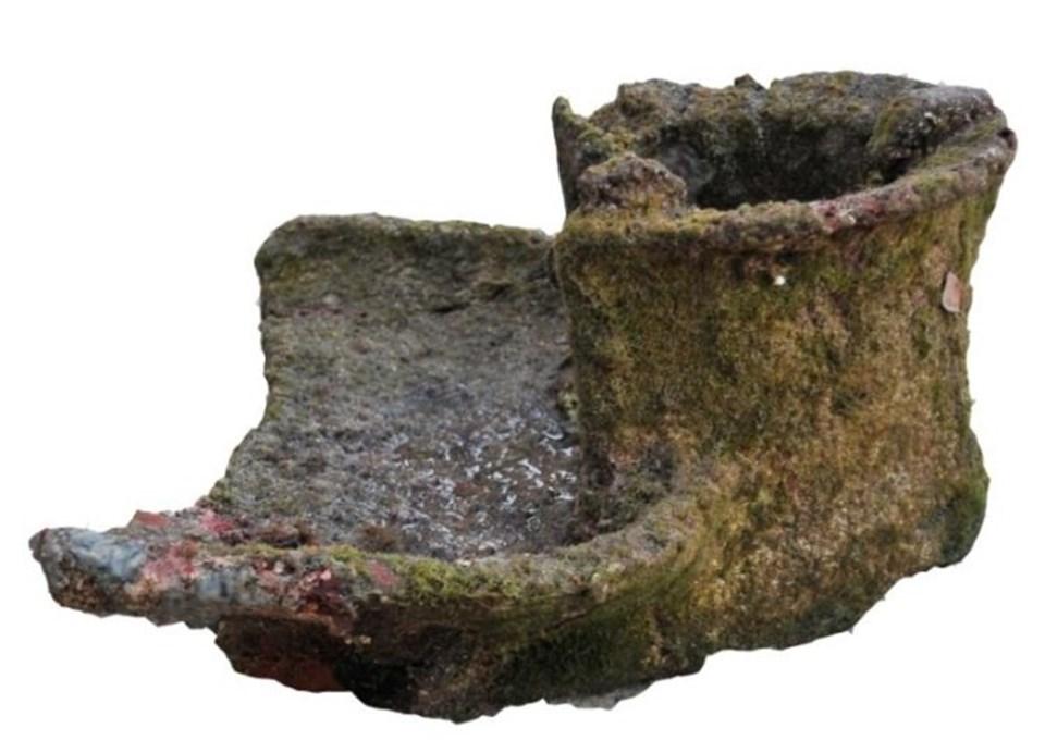 Knidos Antik Kenti'nde Su Altından 2100 Yıllık Ocak Çıktı