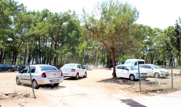 Antalya'daki Idyros Antik Kenti Arazisi Otopark Yapıldı