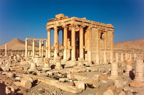 Suriye'deki Bel Tapınağı da yok edildi