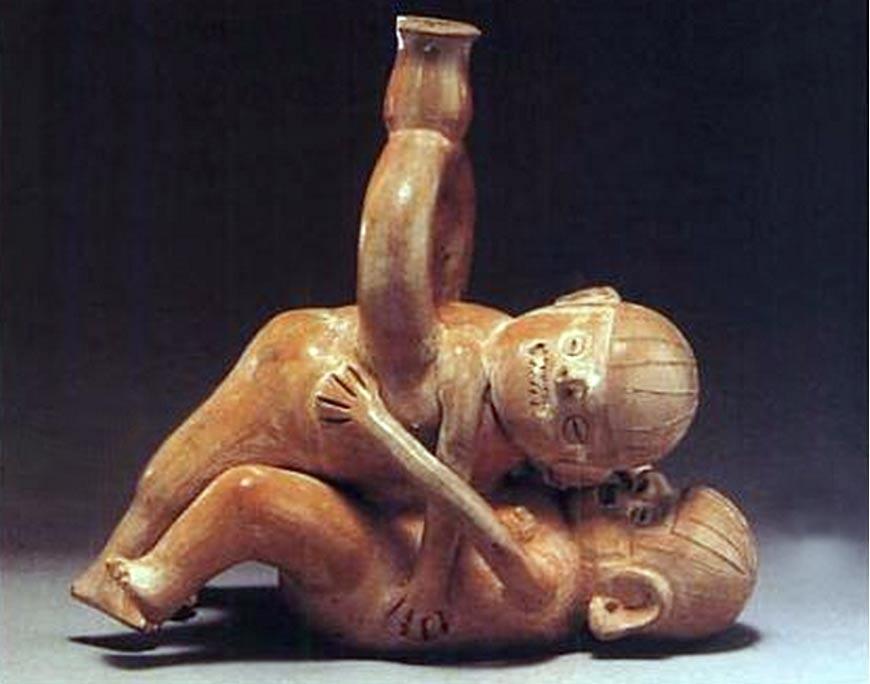 Peru'daki Moche Uygarlığının 2000 Yıllık seks Seramikleri