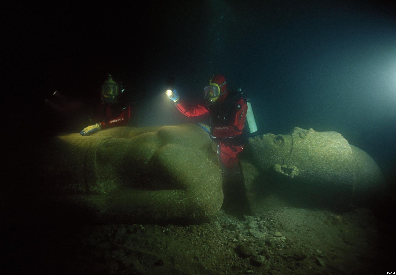 Sualtındaki Antik Mısır Kentinin Buluntuları İlk Defa Sergilenecek