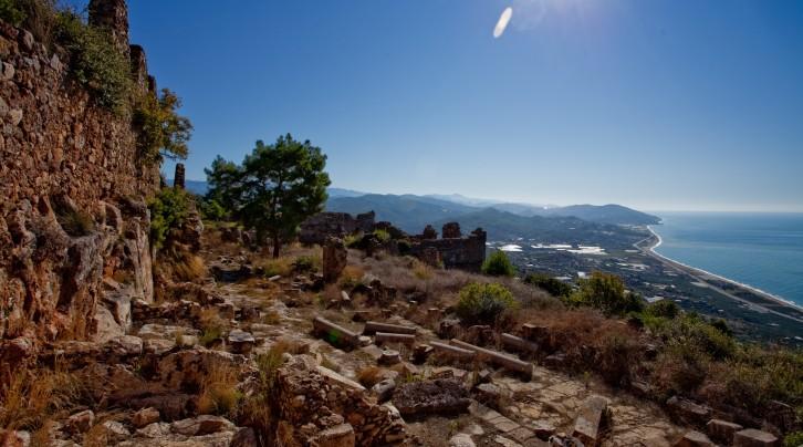 Antalya'daki Syedra Antik Kenti'nde Gelecek Yıl Kazılar Başlayacak