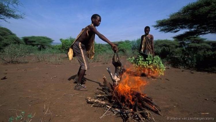 Ateşi kontrol etmek insan tarihinde büyük bir adımdı. (Ariadne Van Zandbergen/Alamy)