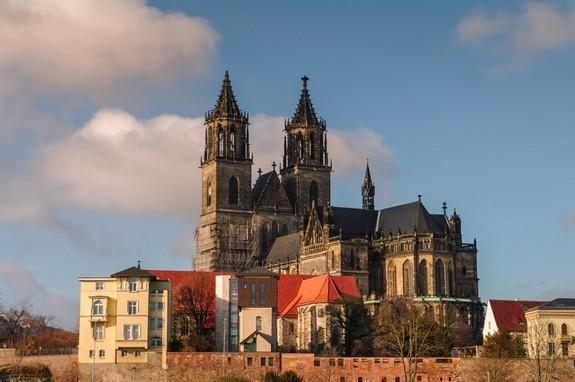 Magdeburg Katedrali, Almanya Credit: Oleg Senkov