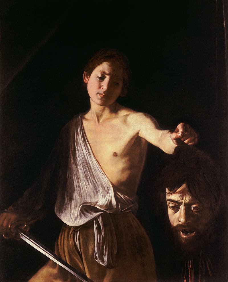 Goliath'ın Kafasıyla David (1606-1607)