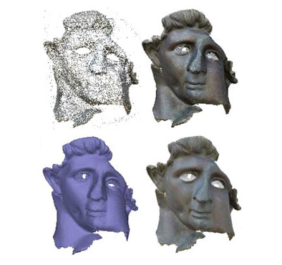 İran'daki Hasarlı Helenistik Heykel Dijital Olarak Canlandırıldı