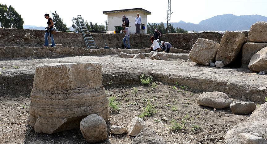 Hatay'da Antik Hipodrom Gün Yüzüne Çıkıyor
