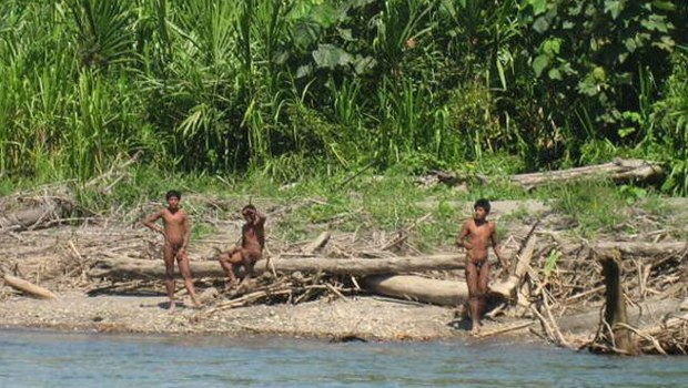 Peru'nun Madre de Dios bölgesinde yaşayan Mashco Piro kabilesi