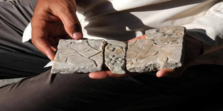Isparta'da 1800 Yıllık Eros Kabartması Bulundu
