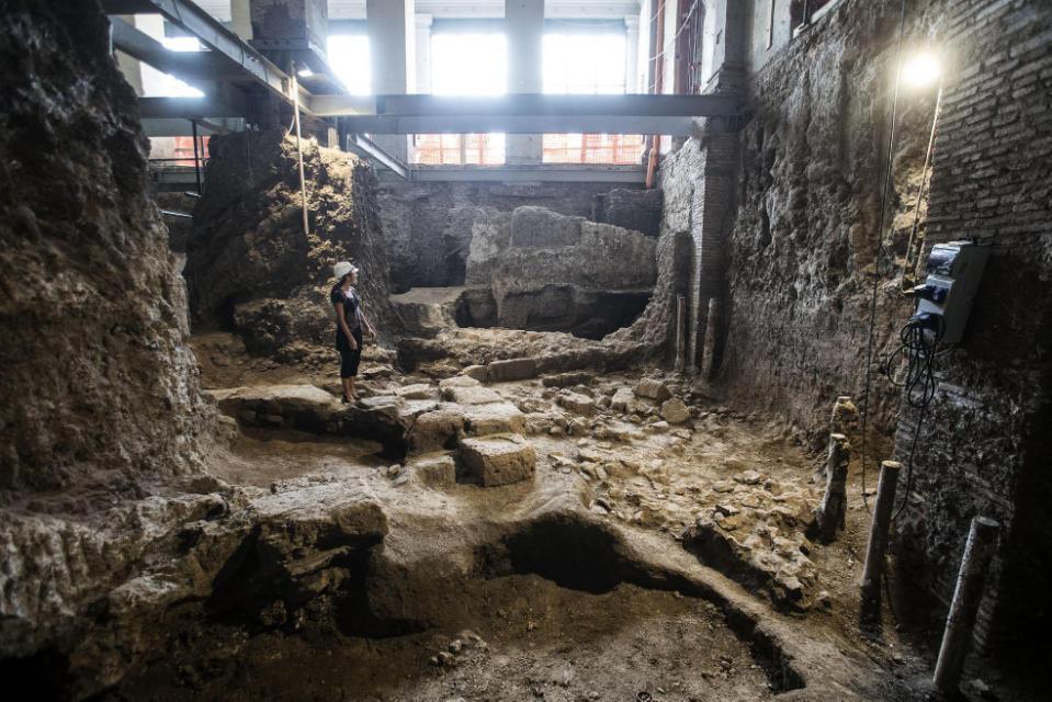 MÖ 6. Yüzyıldan Kalma Ev Antik Roma'nın Sınırlarını Genişletti