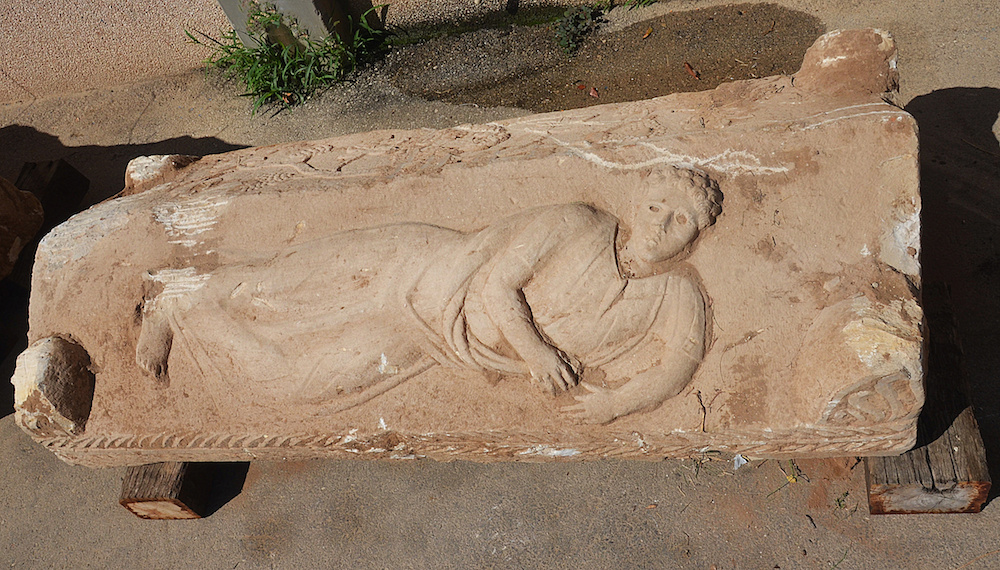 İsrail'de Nadir Bir Roma Lahiti İnşaatta Saklanmış Olarak Bulundu