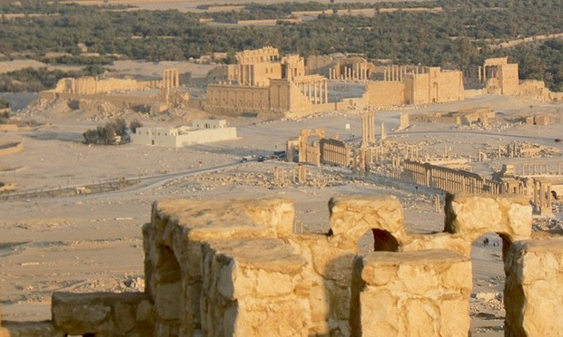 Palmira Antik Kenti, Suriye. Fotoğraf: Amer Ghazzal/Rex Shutterstock