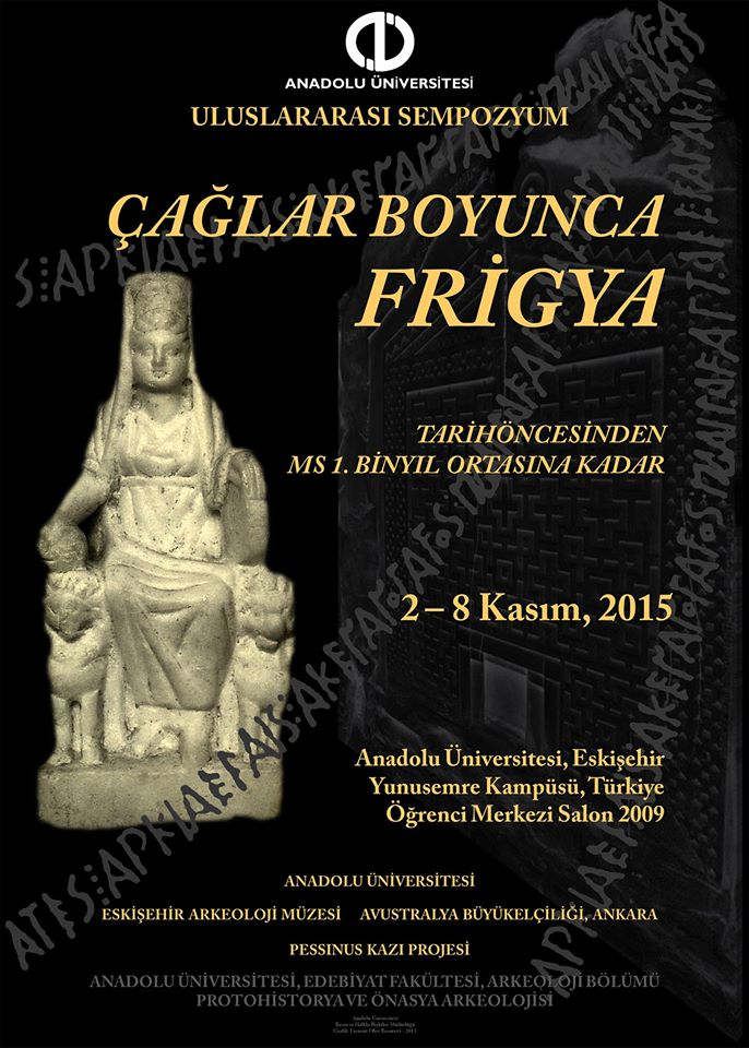 Eskişehir'de Çağlar Boyunca Frigya Sempozyumu Düzenleniyor