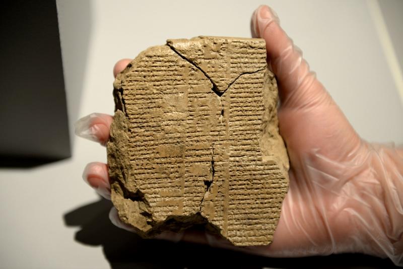 Kaçırılan Tablette Gılgamış Destanı'nın Bilinmeyen Dizeleri Bulundu