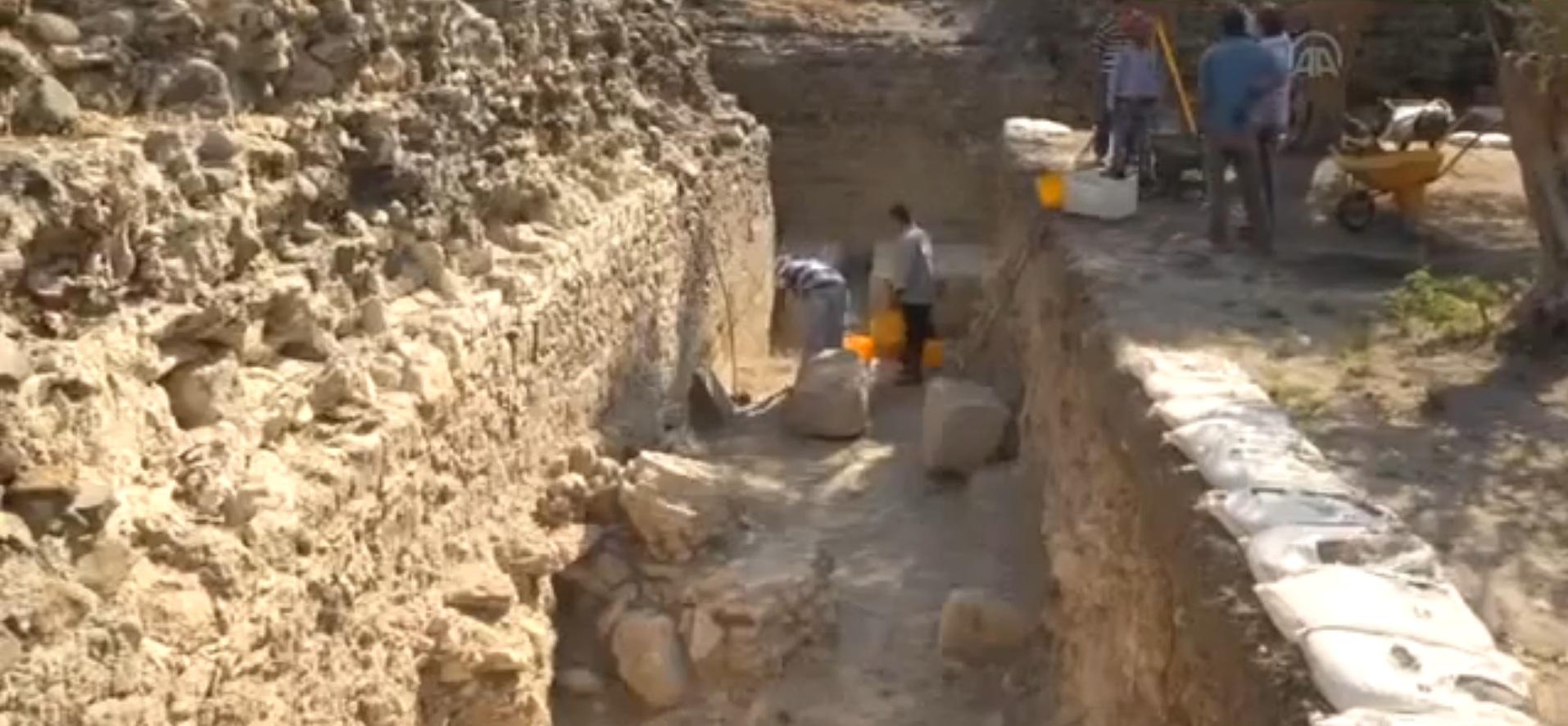Hatay'da Devasa Roma Tapınağı Gün Yüzüne Çıkacak