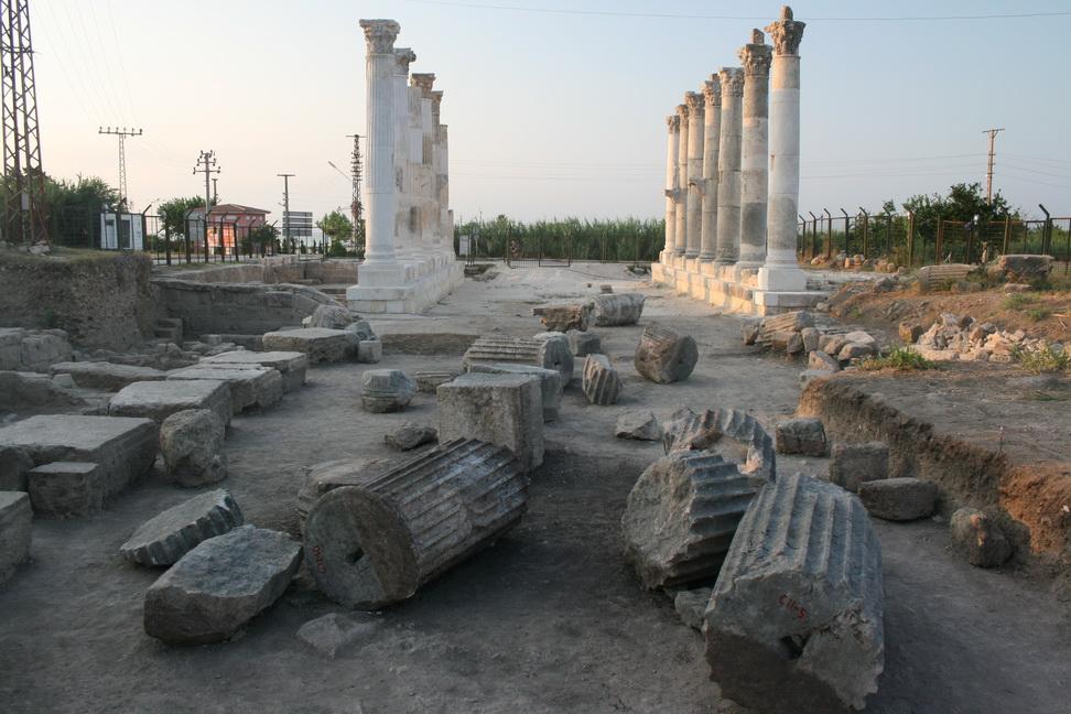 Soli Pompeipolis Antik Kenti'nde Arkaik Tapınak Gün Yüzüne Çıktı