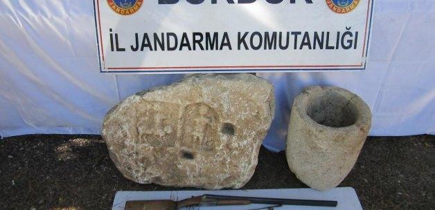 Burdur'da Bir Evde Roma Dönemi Eseri Bulundu