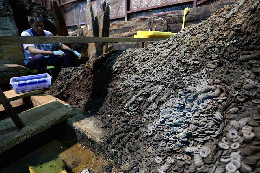 Çin'de Bir Soyluya Ait 2,000 Yıllık Mezarda 10 Ton Bakır Sikke Bulundu