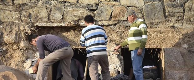 Bodrum'da İnşaat Sırasında Helenistik Mezarlar Bulundu