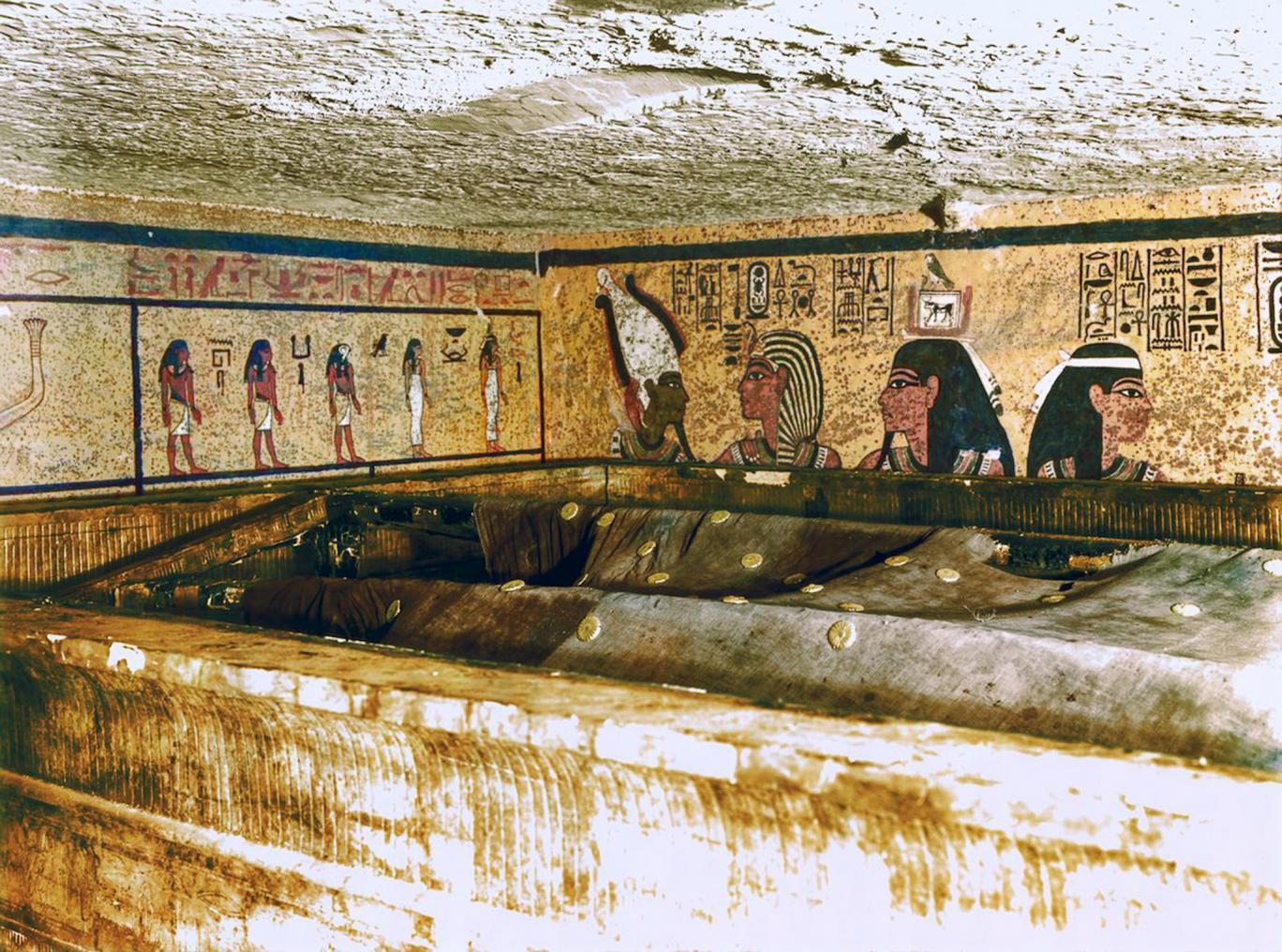 Tutankamun'un Mezarında Yüzde 90 İhtimalle Gizli Bir Oda Bulunuyor