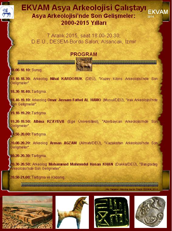 İzmir'de Asya Arkeolojisi Çalıştayı Yapılıyor