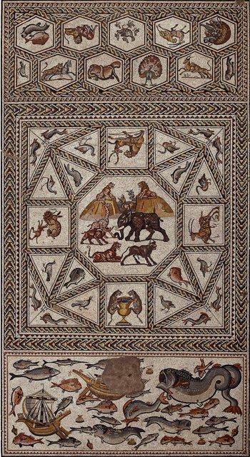 İsrail'de 1700 Yıllık Mozaik Bulundu