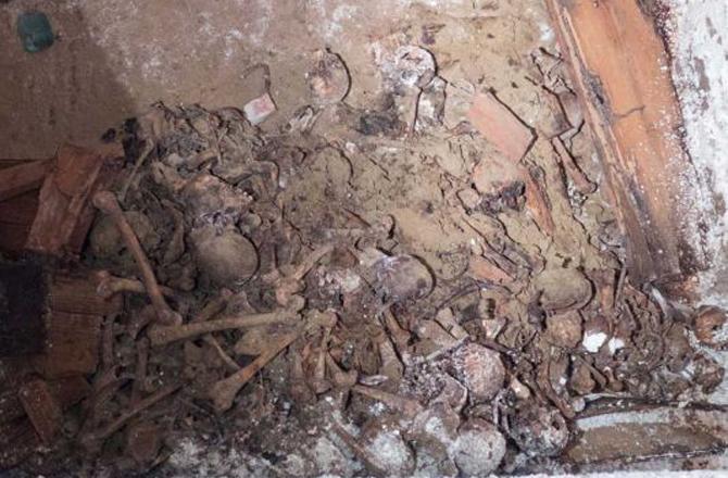 New York'ta Bir Parkın Altında Yer Altı Mezarlığı Bulundu