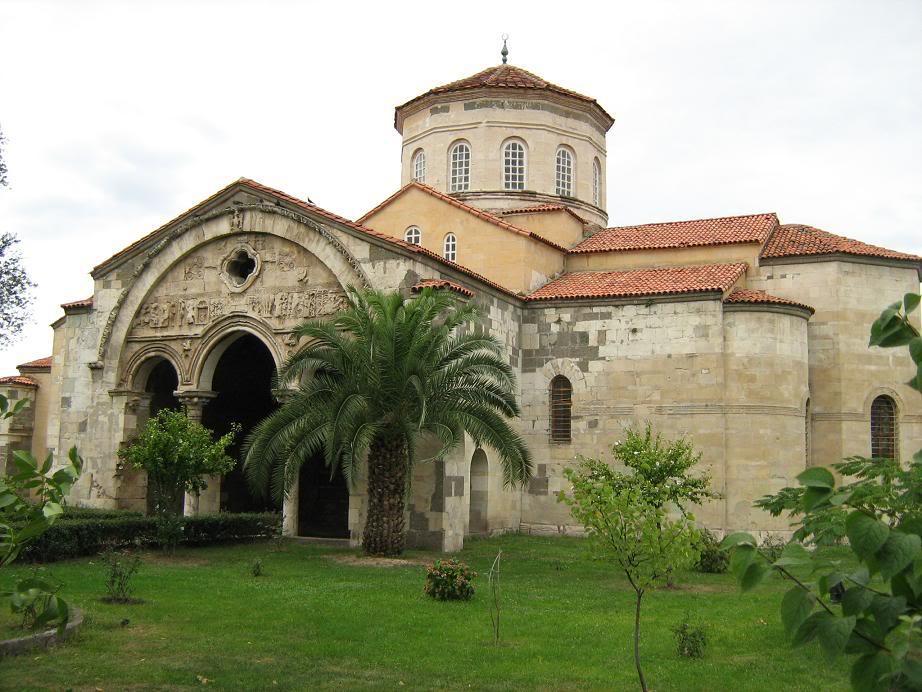 Trabzon Ayasofyası Cami İşlevi İçin Restore Ediliyor