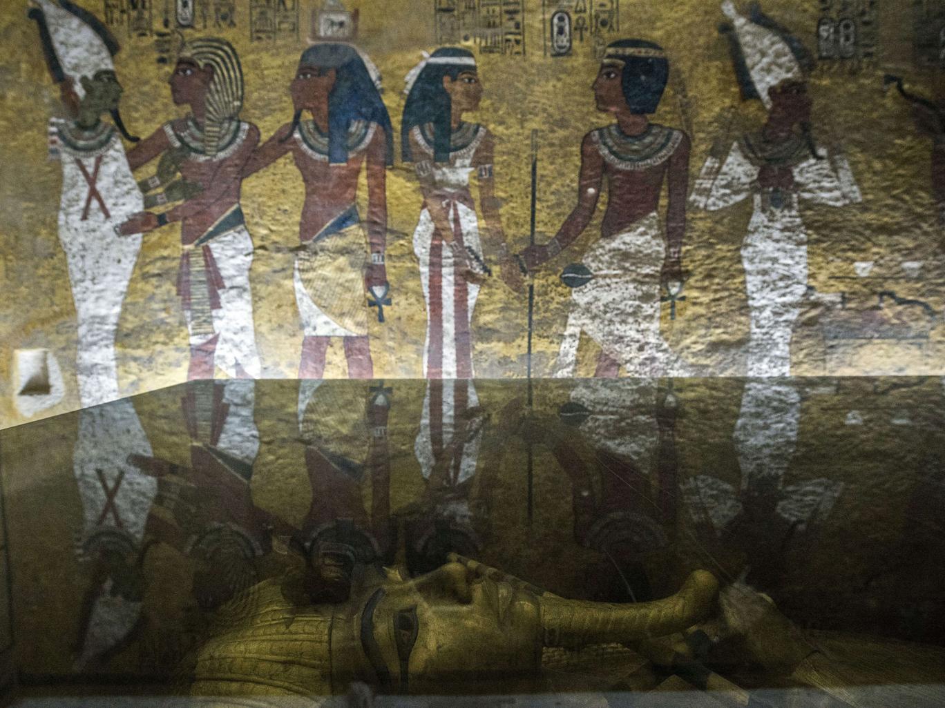 Kızılötesi Testler Tutankamon Mezarındaki Gizli Oda Hakkında Umut Veriyor