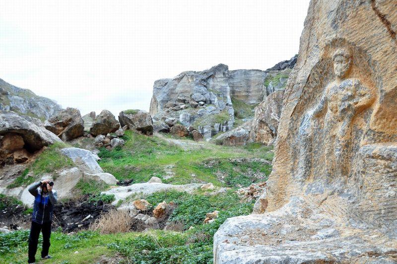 İznik'te 1800 Yıllık Herkül Kabartması Tahrip Edildi