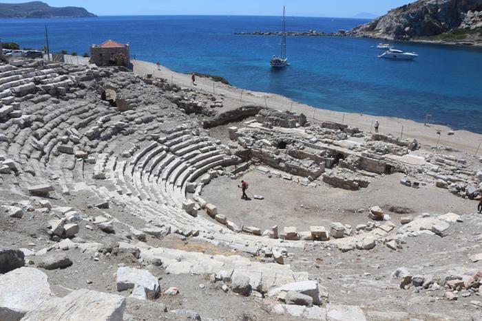 Knidos Antik Kenti'nden Götürülen Eserler İçin Çalışma Başlatıldı