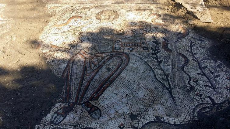 2015 Yılında Türkiye'den En Önemli 10 Arkeolojik Keşiflerinden hatay'da bulunan kutsal havariler kilisesi