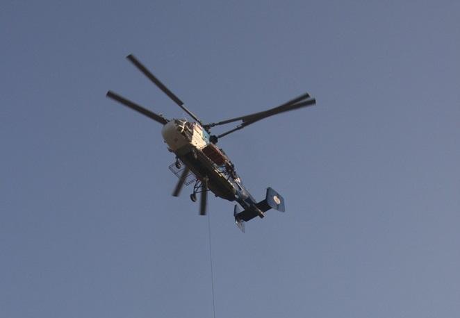 Limyra Kazılarında Helikopterle Stel Kurtarıldı