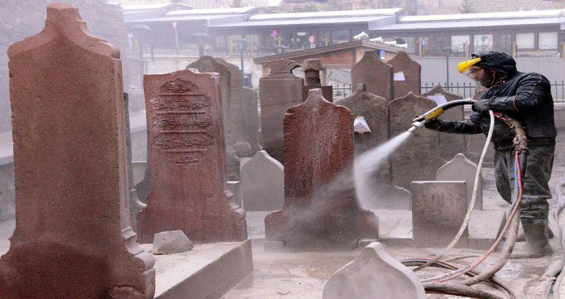 Erzurum'daki Osmanlı Camisinin Restorasyonunda Kayıp Mezarlar Çıktı