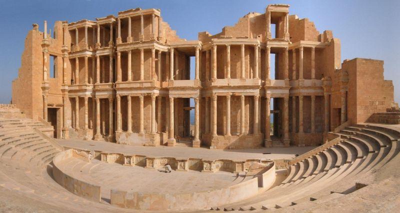 Libya'daki Sabratha Antik Kenti Işid'in Eline Geçti