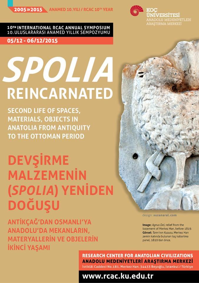 Devşirme Malzemenin (Spolia) Yeniden Doğuşu Sempozyumu İstanbul'da